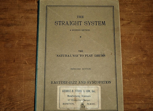 "1922 The Straight System, a modern method : the ""natural way"" Edward B. Straight"