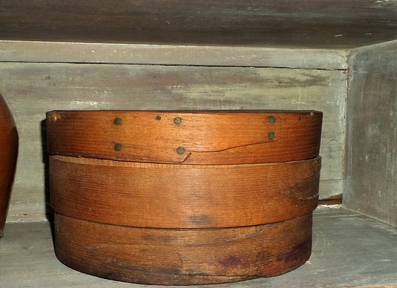 Antique Cheesebox in Its Natural Old Patina
