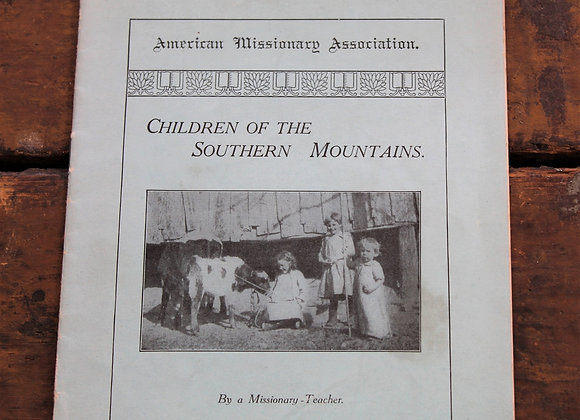 1923 - Children of The Southern Mountains