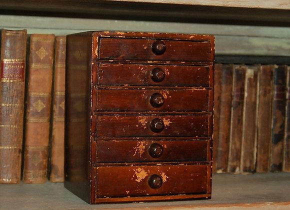 Late 19th Century Six Drawer Sewing Box