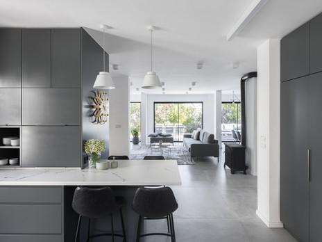 עיצוב בית עם שפע מקומות איחסון