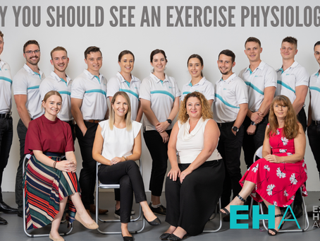 Why you should see an Exercise Physiologist?