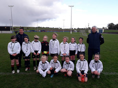 u10 Girls lose out in ExtraTime of Cup final