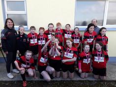 u12 Girls win Cup Final