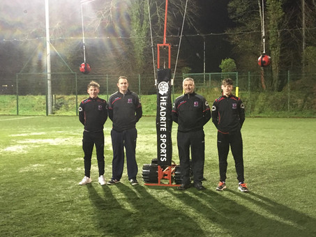 Official Launch of Headrite at Glen Celtic AFC
