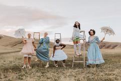 Victorian Girls Meet 1960s