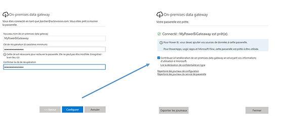 Connexion du serveur de mise en relation