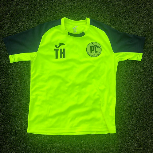 PL 1 Fluo Training T shirt Yellow/Navy