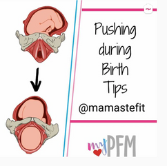 Pushing during birth tips