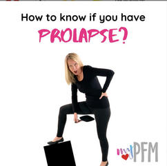 How to know if you have prolapse?
