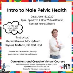 Intro to Male Pelvic Health