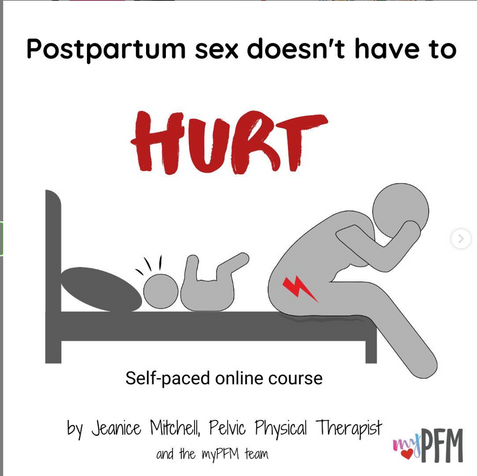 Postpartum sex doesn't have to hurt