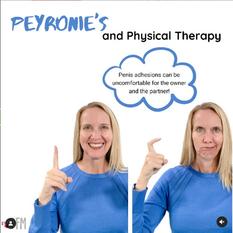 Peyronie's & PT