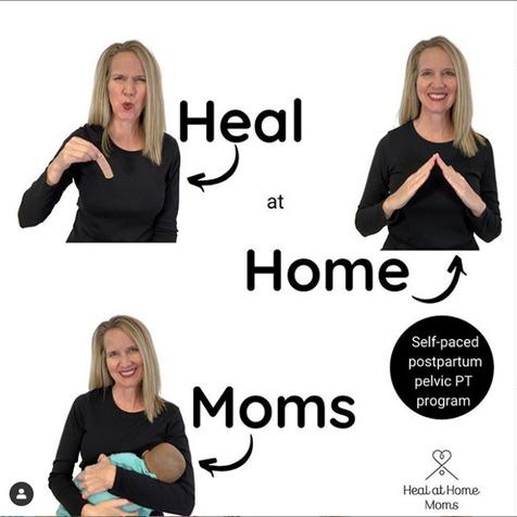 Heal at home moms