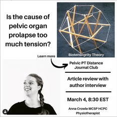 Pelvic PT Distance Journal Club