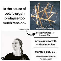Pelvic PT Distance Journal Club