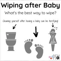 WIping after baby