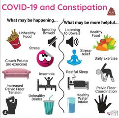 Covid-19 & Constipation