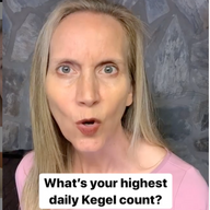 What's your highest kegel count?