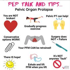 Pep Talk & Tips
