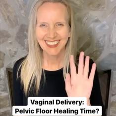 PF Healing Time