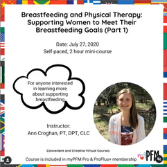 Breastfeeding and PT