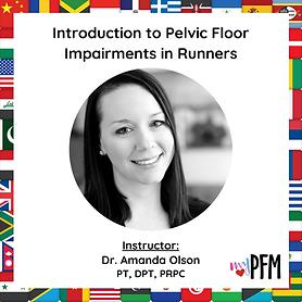 Intro to Pelvic Floor Impairments in Run