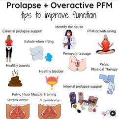 Prolapse & Overactive PFM