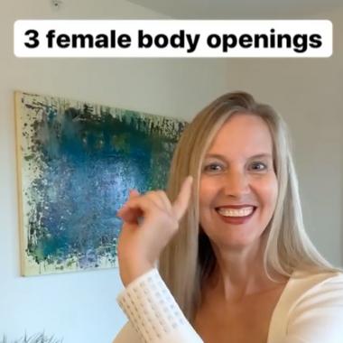 3 Female body openings