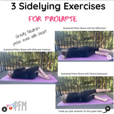 3 Sidelying Exercises