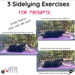 3 Sidelying Exercises