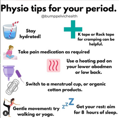 Physio tips for your period