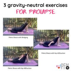 3 Gravity Neutral Exercises