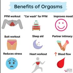 Benefits of Orgasms