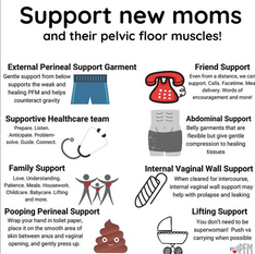 Support new moms
