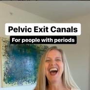Pelvic exit canals