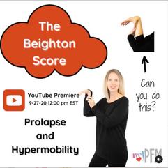 The Beighton Score