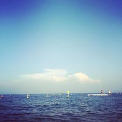 どこまでも続く海。歩いて5分でこの景色が淡路島。#パタジェウミソラ#淡路島#海