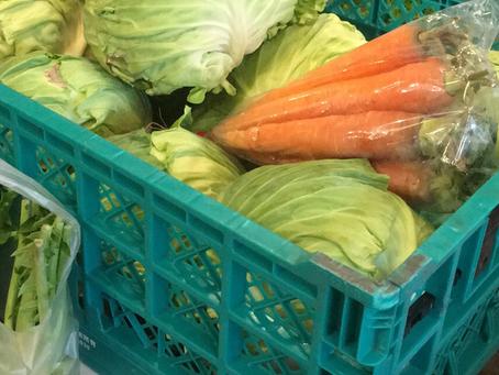 野菜の仕入れ…