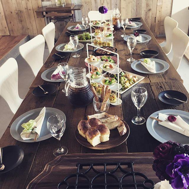 今日のウミソラは地元の婦人会の会食8名様のオードブル。_#淡路島#パタジェウミソラ#パタジェとヴィラのコラボ#貸切ご利用承ります!