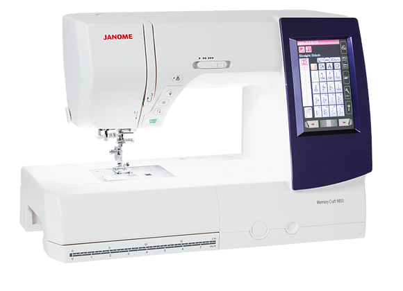 Janome MC9850 EMBROIDERY & SEWING