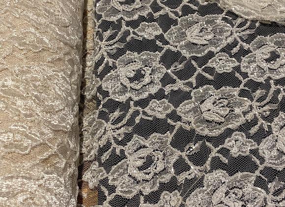 Beaded Lace Ivory