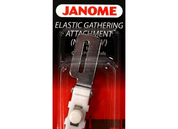 Elastic gathering attachment (narrow) - Janome (coverstitch machine)