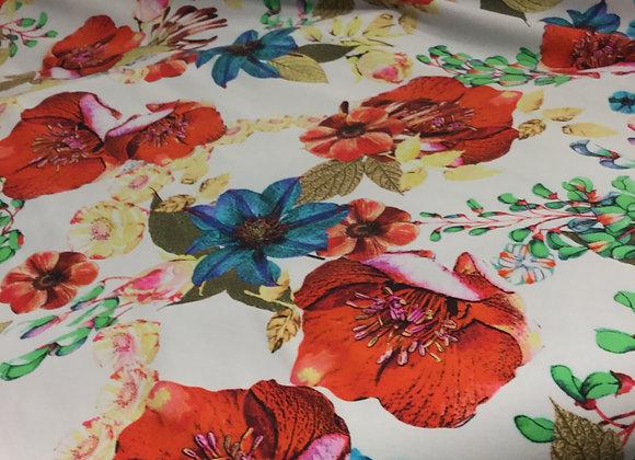Digital Floral Lycra