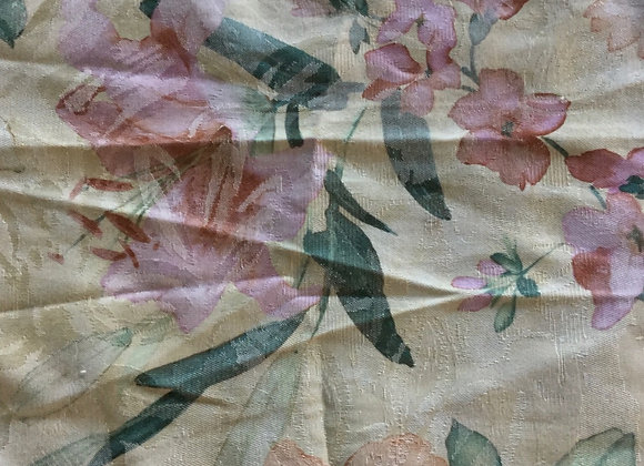 Floral Jacquard Upholstery Fabric