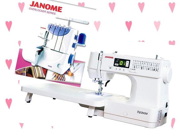9102D & DC2030 Janome Combo