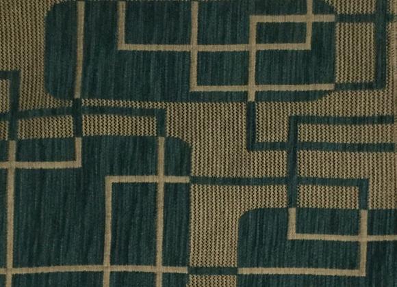 Oasis Aqua Upholstery Fabric