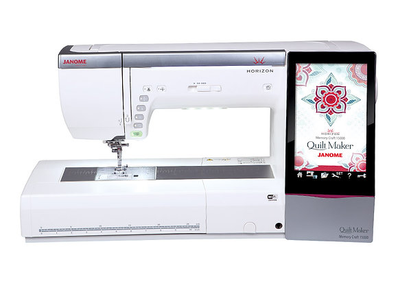 MC15000 QuiltMaker Sewing & Embroidery