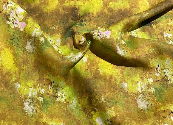 Chartreuse airwash linen