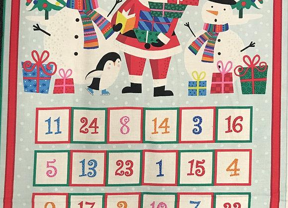 Advent calendar Jolly Santa